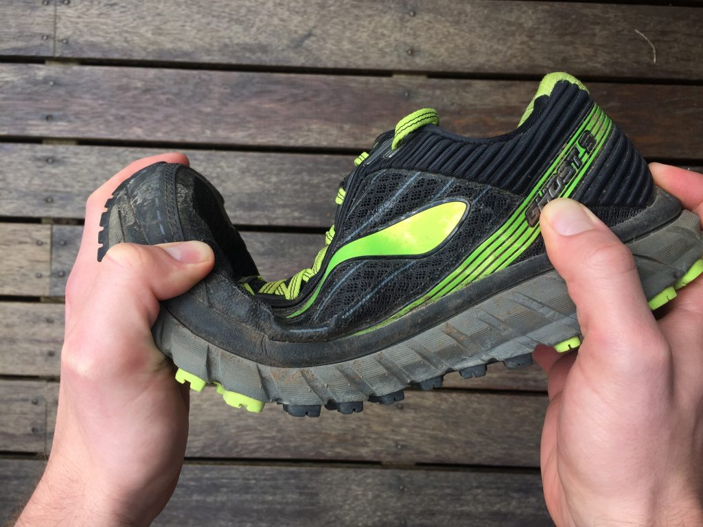 Brooks Ghost trail running shoes