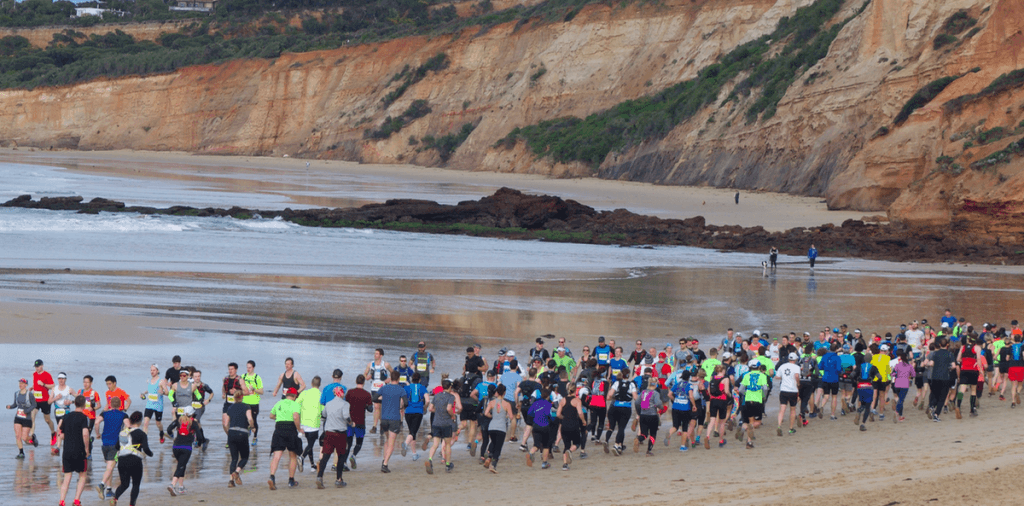Trail running series, Anglesea Victoria