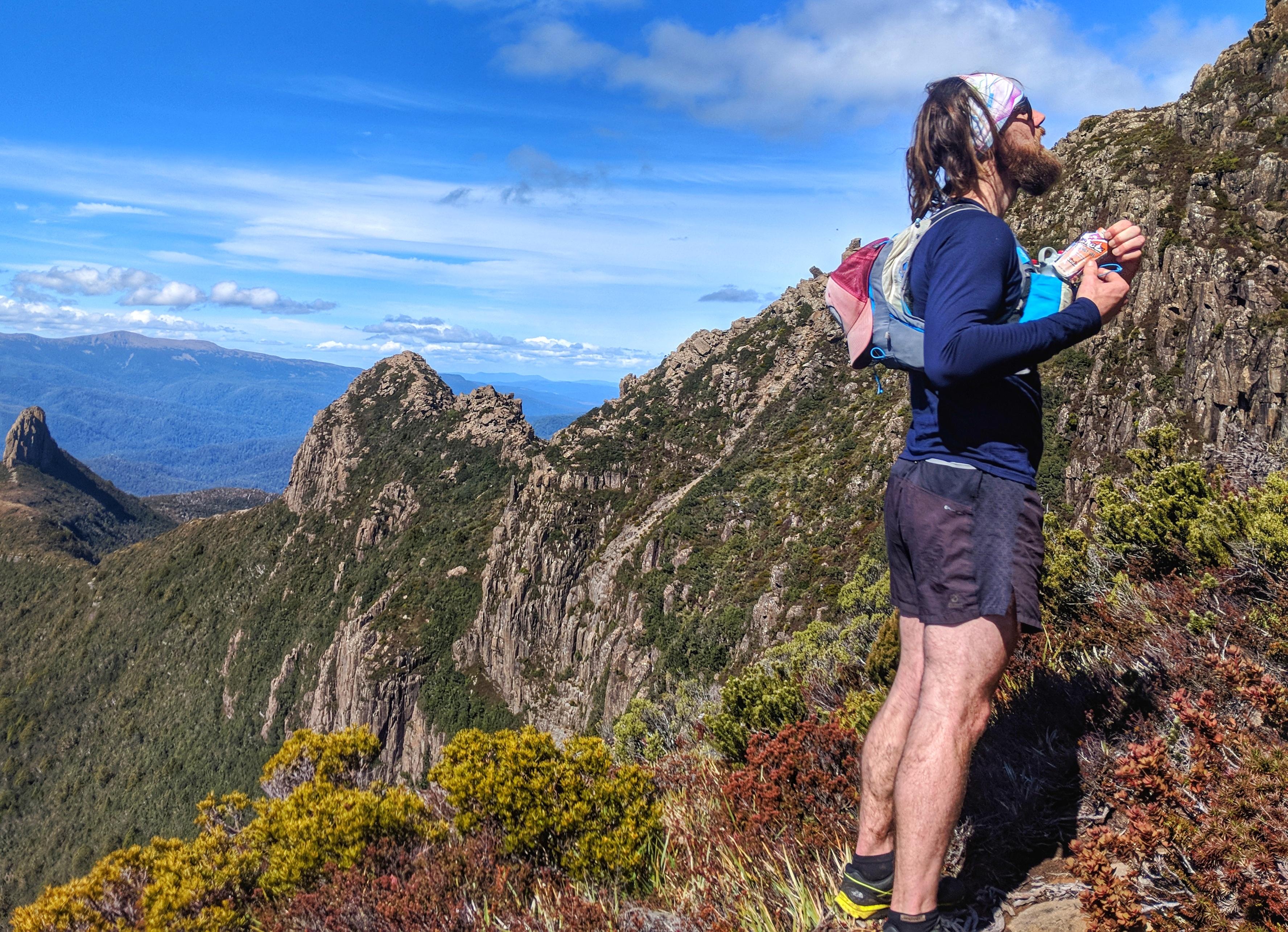 Trail Running Tasmania, Mount Anne