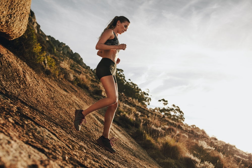 Running downhill training