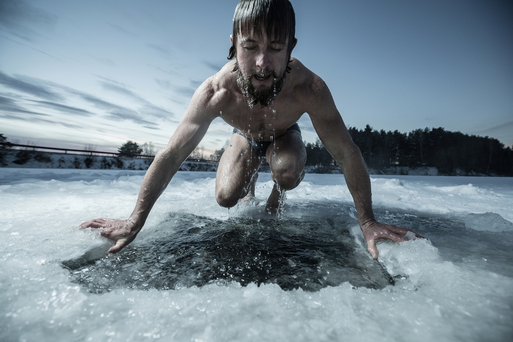 Ice Baths running, running recovery